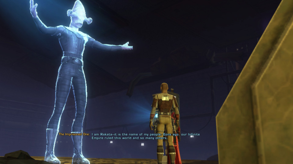 Instead of KotOR 3 we got: Star Wars: The Old Republic - The
