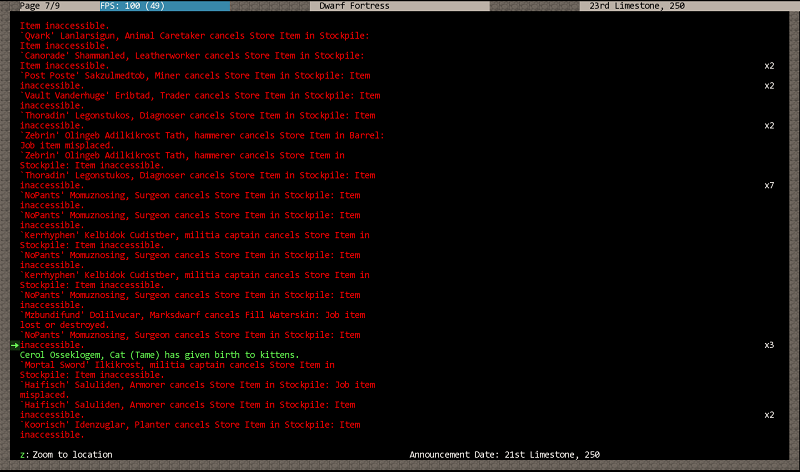 how to set jobs dwarf fortress