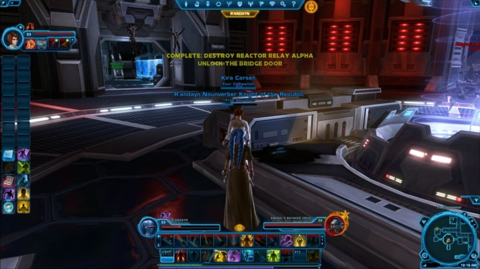 The Republic Strikes Back! Star Wars: the Old Republic part