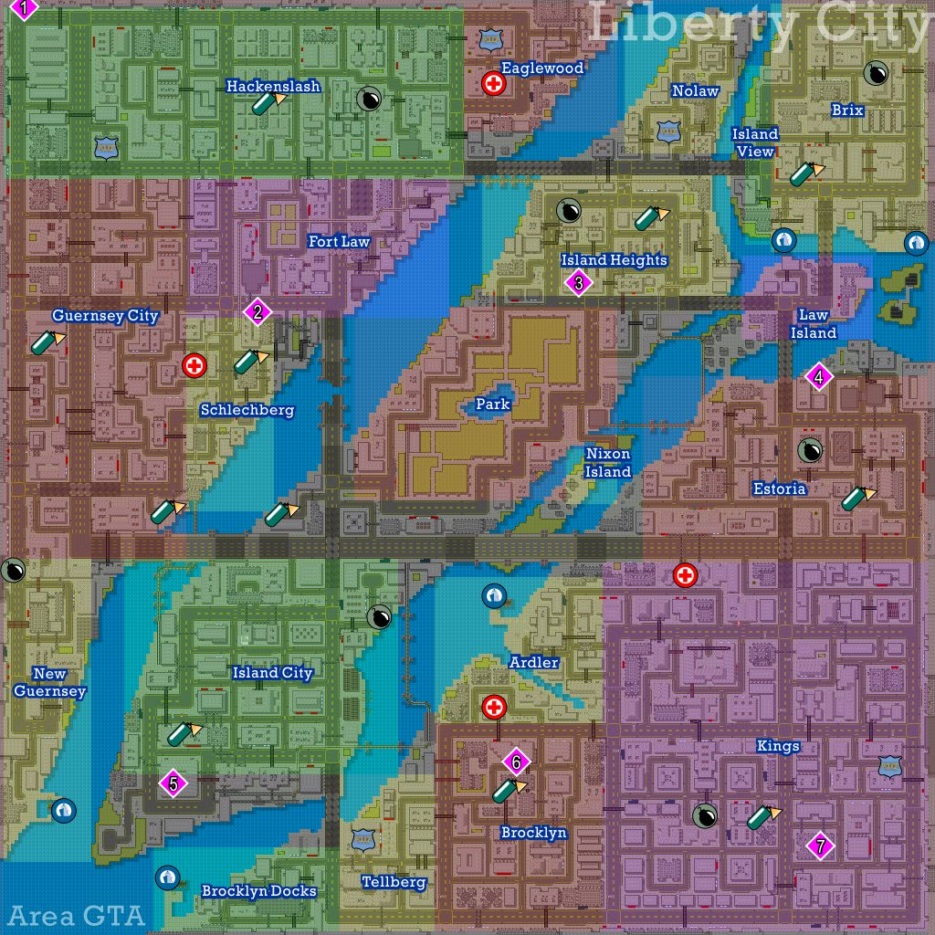 Found this map of San Andreas but now I'm even more lost