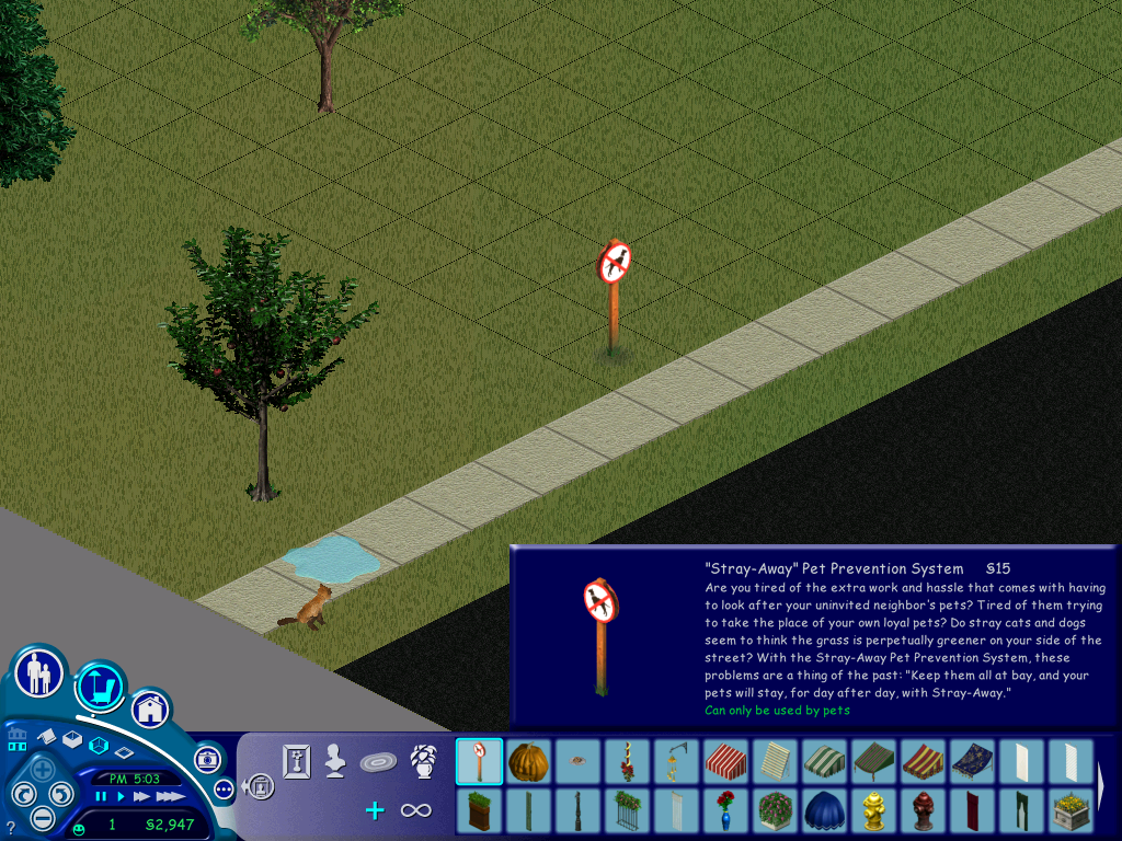Sims  Sims Keep Annoying Cats