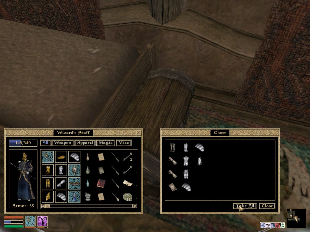 Oh Give Me A Home, Where The Siltstriders Roam: Morrowind