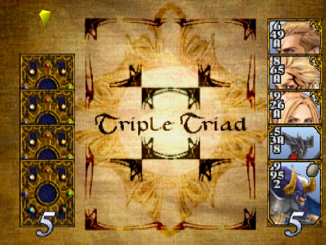 Triple Triad Game Rules