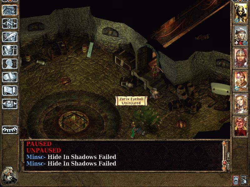 Baldur S Gate  Spike Trap Room