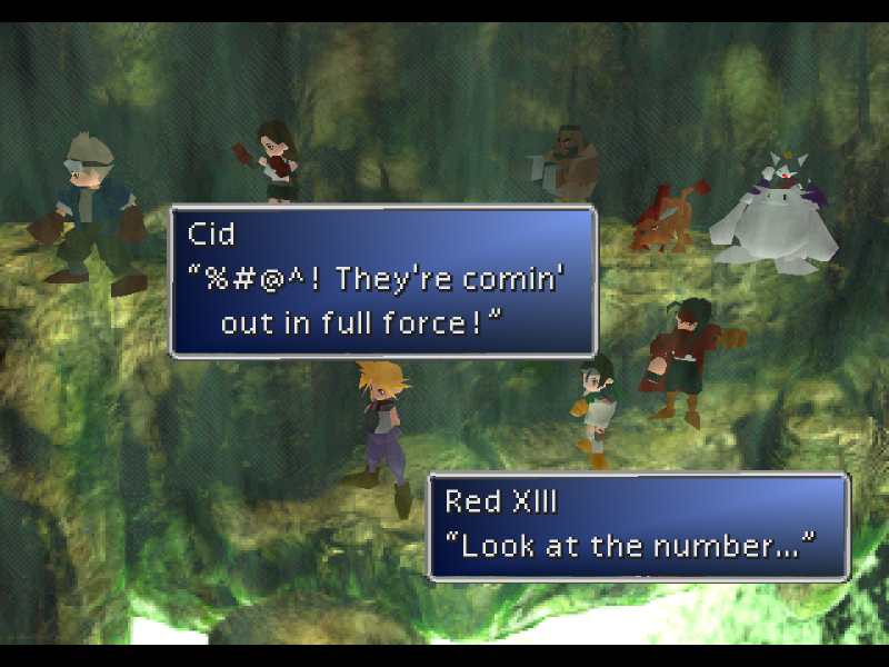ff7 how to get materia off character