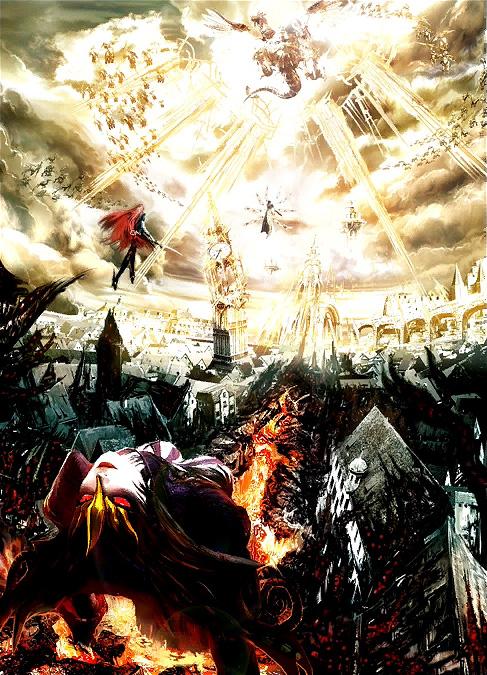 Bayonetta 2 Part 20 Concept Art Backgrounds