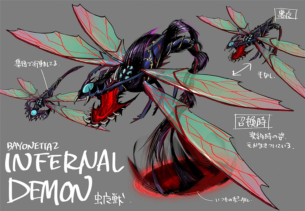 Bayonetta 2 Part #19 - Concept Art - Characters, Enemies and