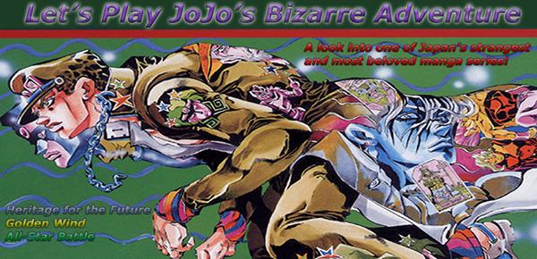 LET'S GO ON A BIZARRE ADVENTURE! [JoJo LP] - The Something