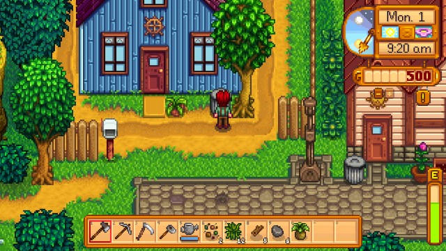 Most Of The People In Stardew Valley Live Here Pelican Town This Is Also Where S Are