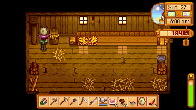 Stardew Valley Buy This Game I M Serious The Something Awful Forums Spawning items in stardew valley is not done via commands, but rather through a cheat in which you must set your character's name, or the name of an animal, to the item code of the item you wish to spawn surrounded by  and . the something awful forums