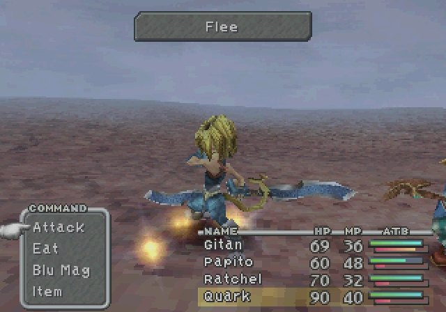 Final Fantasy IX - Steiner says