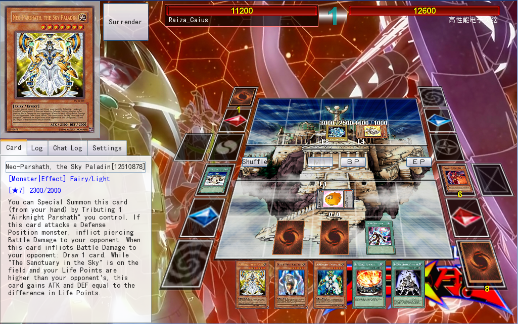 I activate my trap card, automated rules handling! Lets play YGOPro