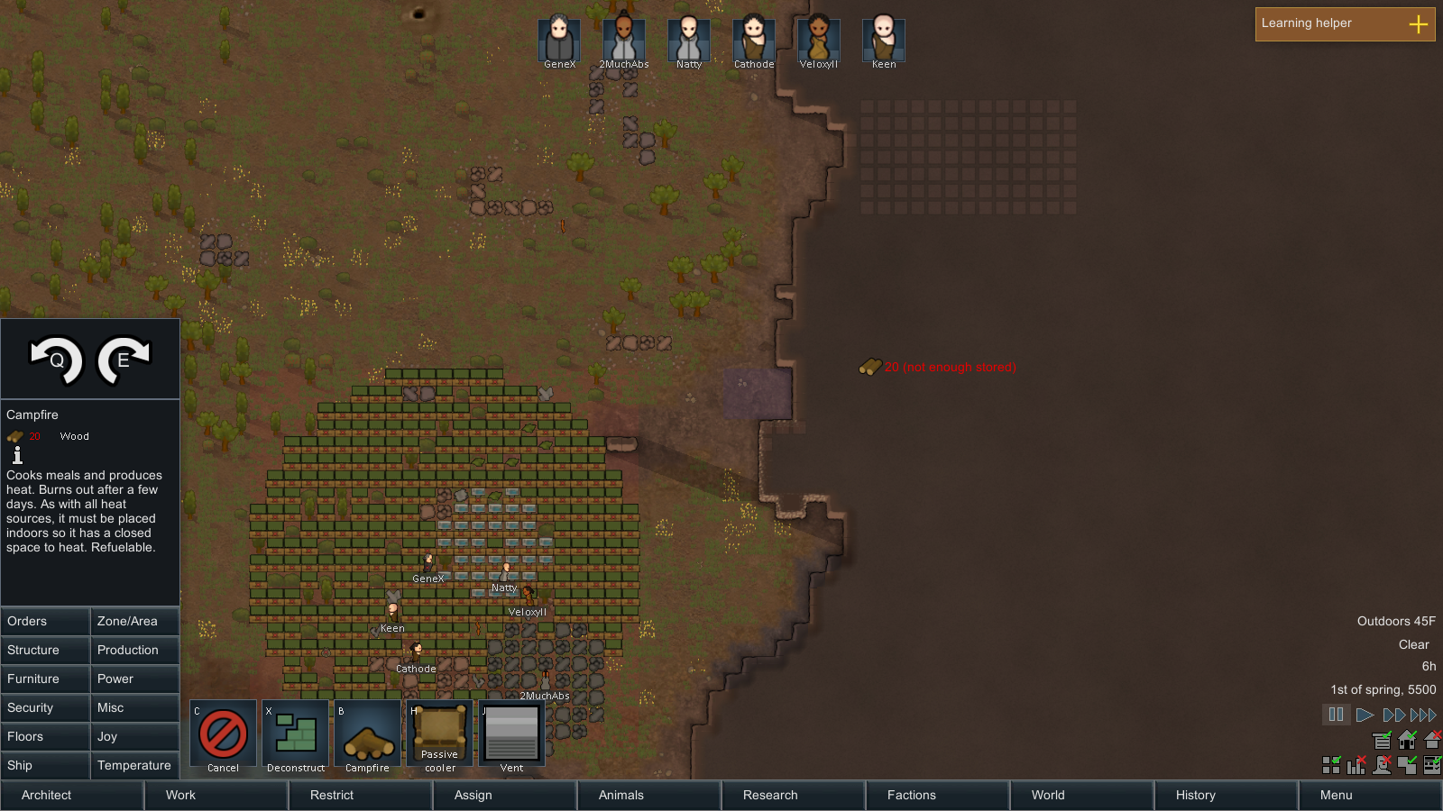 Their choices will affect the story of this Rimworld SSLP