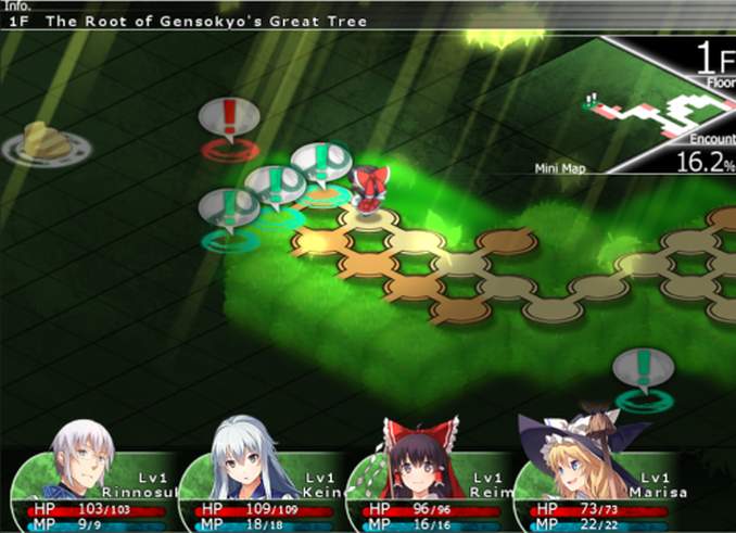 Let's Play Labyrinth of Touhou 2 - The Something Awful Forums