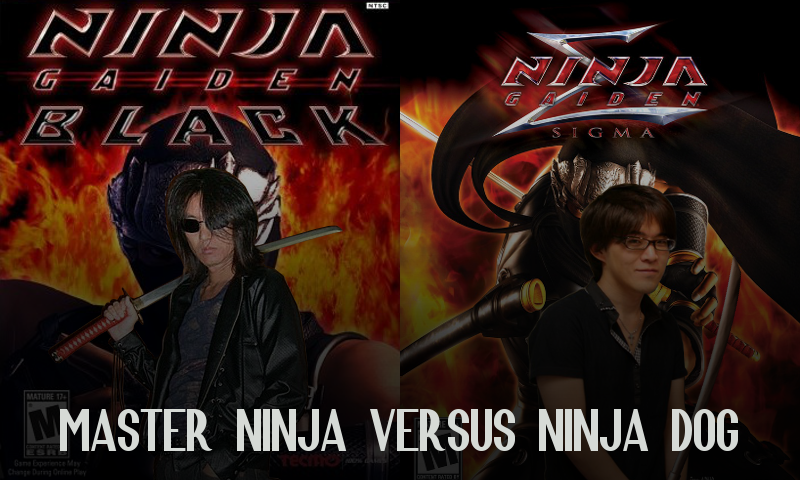 Master Ninja Vs Ninja Dog Let S Play Ninja Gaiden Black Sigma