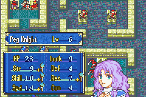 Fire Emblem (Corrected Flora Level up 2)