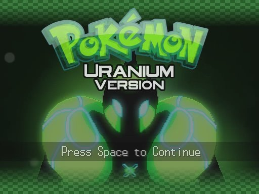 Pokemon Uranium is not a very good game  - The Something