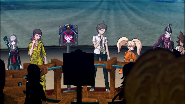 Looks like another perfect, tropical day in Danganronpa 2