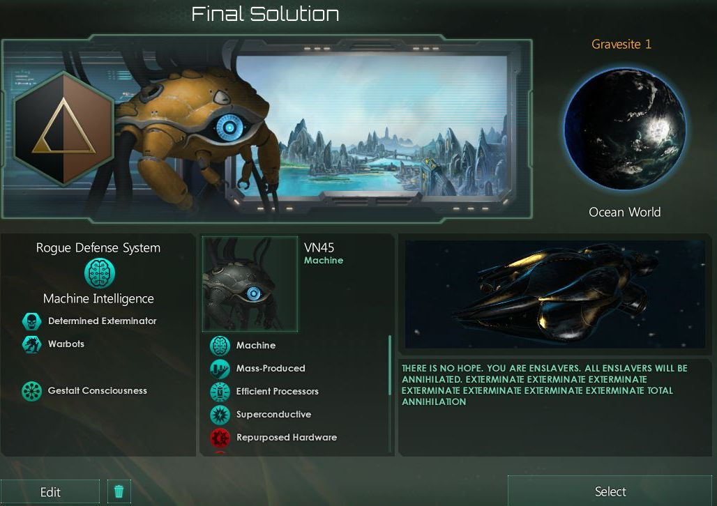 Stellaris 2 2: The Word For Tiles is Goodbye - The Something Awful