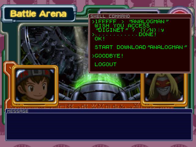Cyborg dragons play card games in Digimon: Digital Card