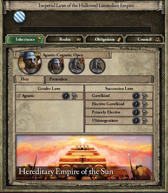 Bordergore - Crusader Kings 2 Shattered Worlds - The