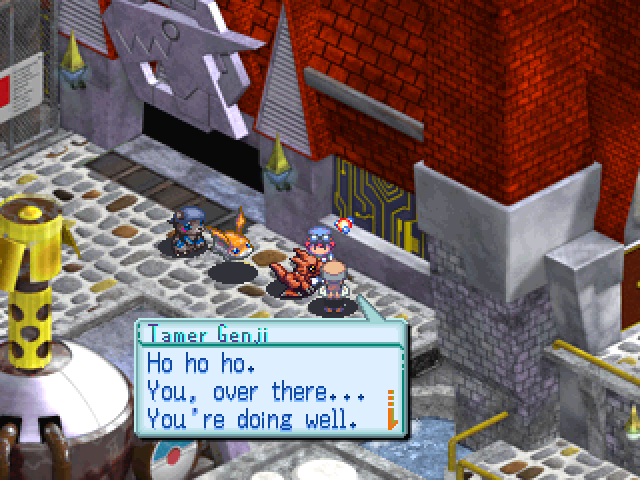 digimon world 3 how to get to tyranno valley